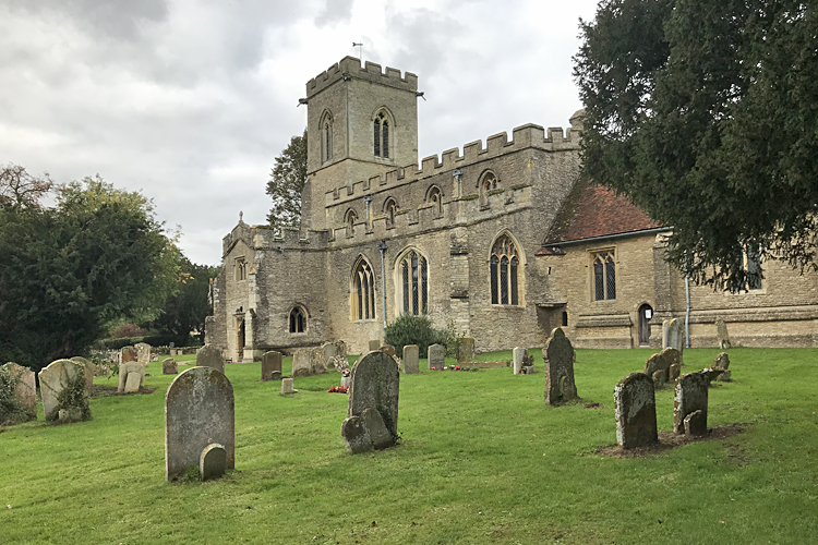St Mary's Church Oakley